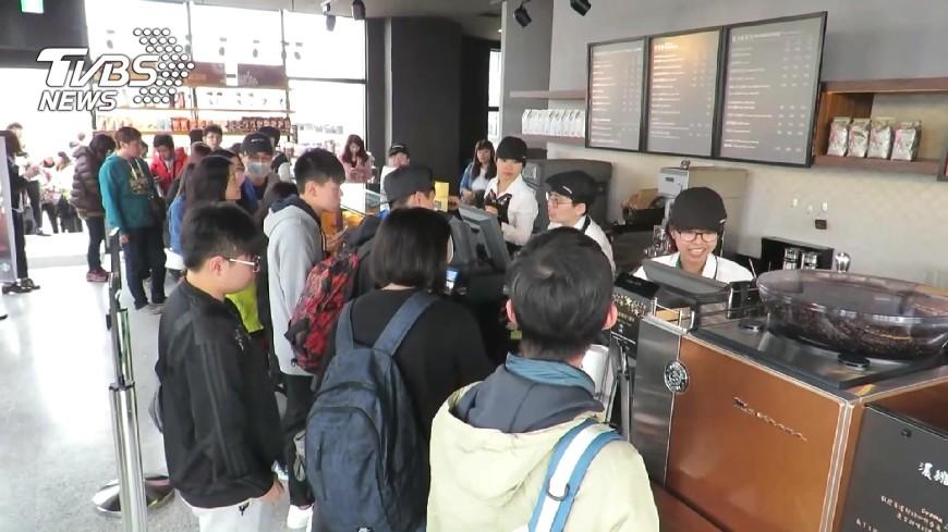 圖/TVBS 台星巴克會員黏著度亞洲第一 就靠數據