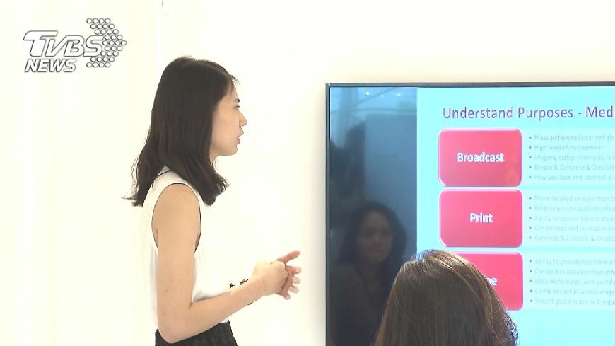 圖/TVBS 提升學生就業力 大學英語課導入多益檢測