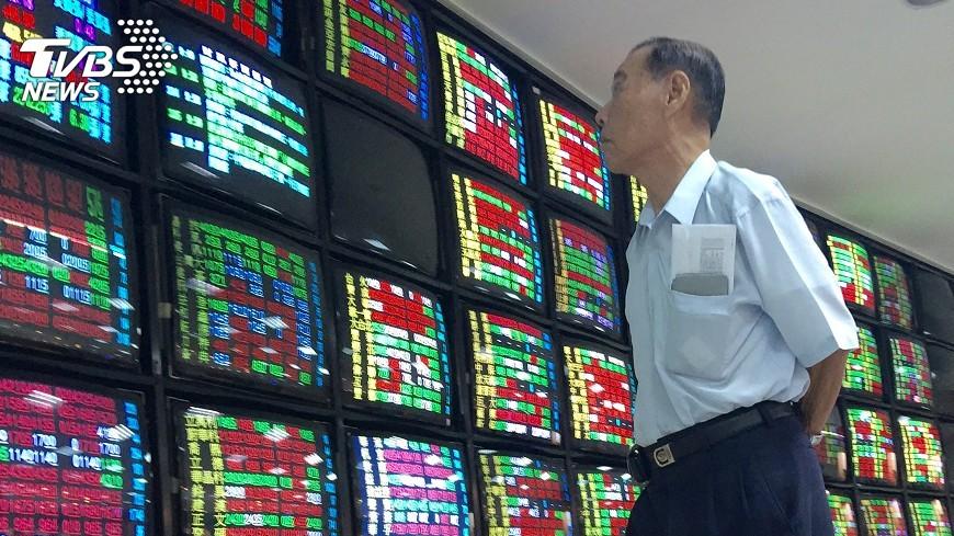 圖/中央社 台股可望挑戰10800 美股大漲激勵