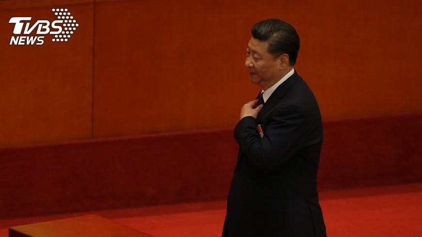 圖/中央社 習近平時刻懷抱「中國夢」 但坦言挑戰嚴峻
