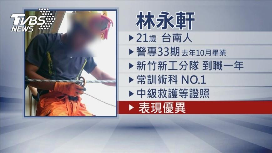 圖/TVBS 21歲勇消殉職 雙親拒入忠烈祠:太年輕還沒有貢獻